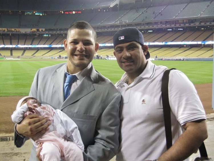 Yadier  Jayda  and Bengie jpg Yadier Molina Son